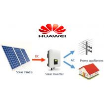 3,84 kW Huawei OnGrid pre sedlovú strechu