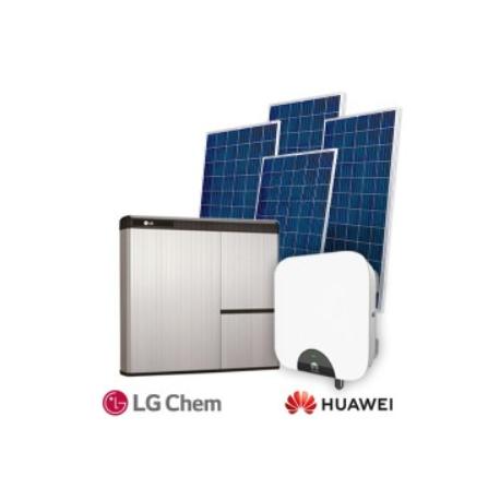 FVE Hybridná Huawei 3,99 kW LG10kWh